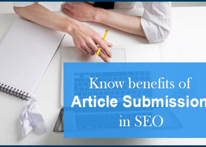 What Are The Advantages And Disadvantages Article Submission In Seo