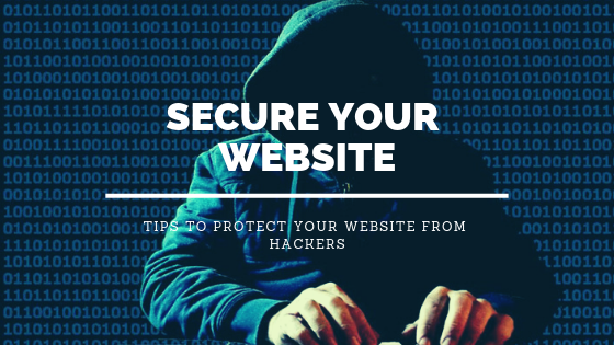 Secure and protect your website from hackers.